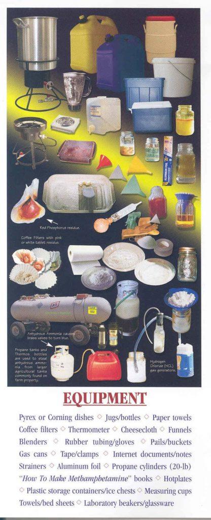 meth lab equipment